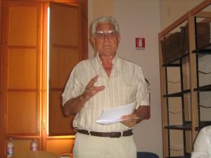 Il sociologo di Manfredonia Silvio Cavicchia, a sostegno lista 'Manfredonia Nuova' del candidato Italo Magno (image by Stato)
