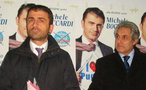 Il consigliere regionale del Pdl Michele Boccardi