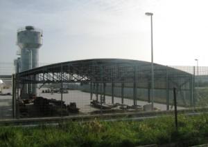 Panoramica stabilimento Inside srl di Manfredonia, località Macchia, UL 127 (Monte S.Angelo - Fg) image copyright Stato