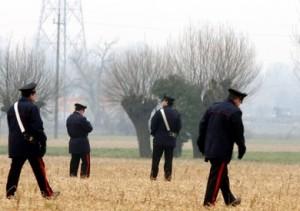 Carabinieri, ricerche (immagine d'archivio)