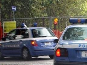 Volanti della Polizia in azione (immagine d'archivio)