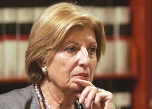 La senatrice del Pdl Adriana Poli Bortone (Pdl)