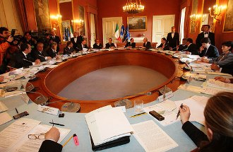Aula Consiglio dei Ministri (media.panorama.it)
