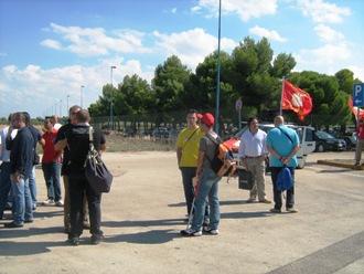 Sciopero lavoratori Sofim-Iveco Foggia