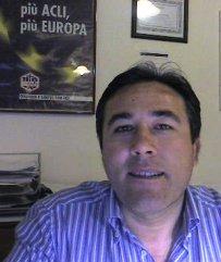 Il presidnte del consiglio comunale di Zapponeta Salvatore Di Noia (St)