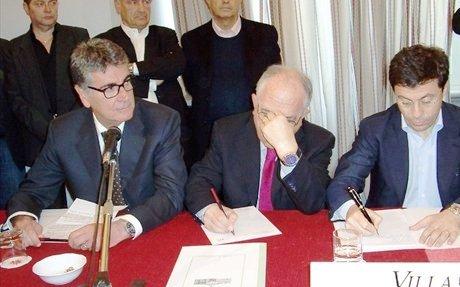 Il consigliere regionale G.Surico (sx-statoquotidiano)
