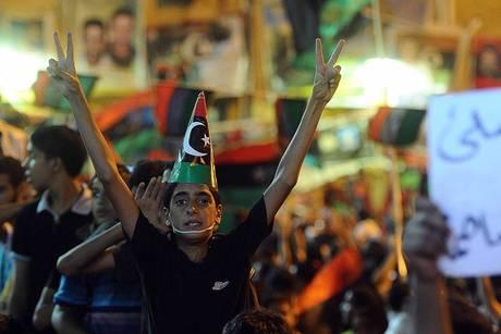 Festeggiamenti a Tripoli (ansa.it)