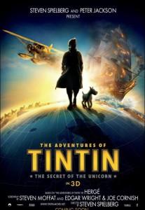 Le avventure di Tintin - Locandina