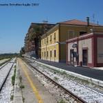 Interno Stazione di Manfredonia. Attivo soltanto il primo binario (Ph: lestradeferrante, R.Serafino)
