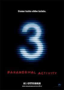 Paranormal Activity 3 - Locandina
