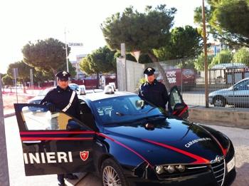 Carabinieri del Comando Compagnia di Manfredonia (ST - archivio)