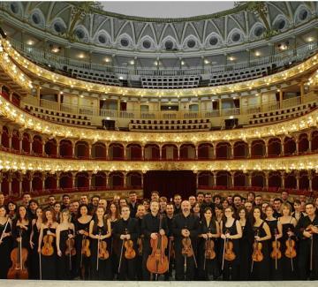 Orchestra fondazione Petruzzelli (ST - archivio, AG)