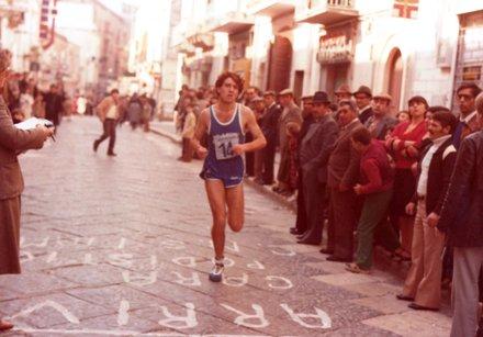 Giovanni Cotugno in gara (archivio Claudio Castriotta@)
