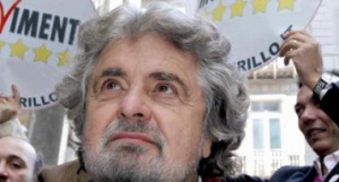 Grillo: nessuna fiducia a Governo tecnico