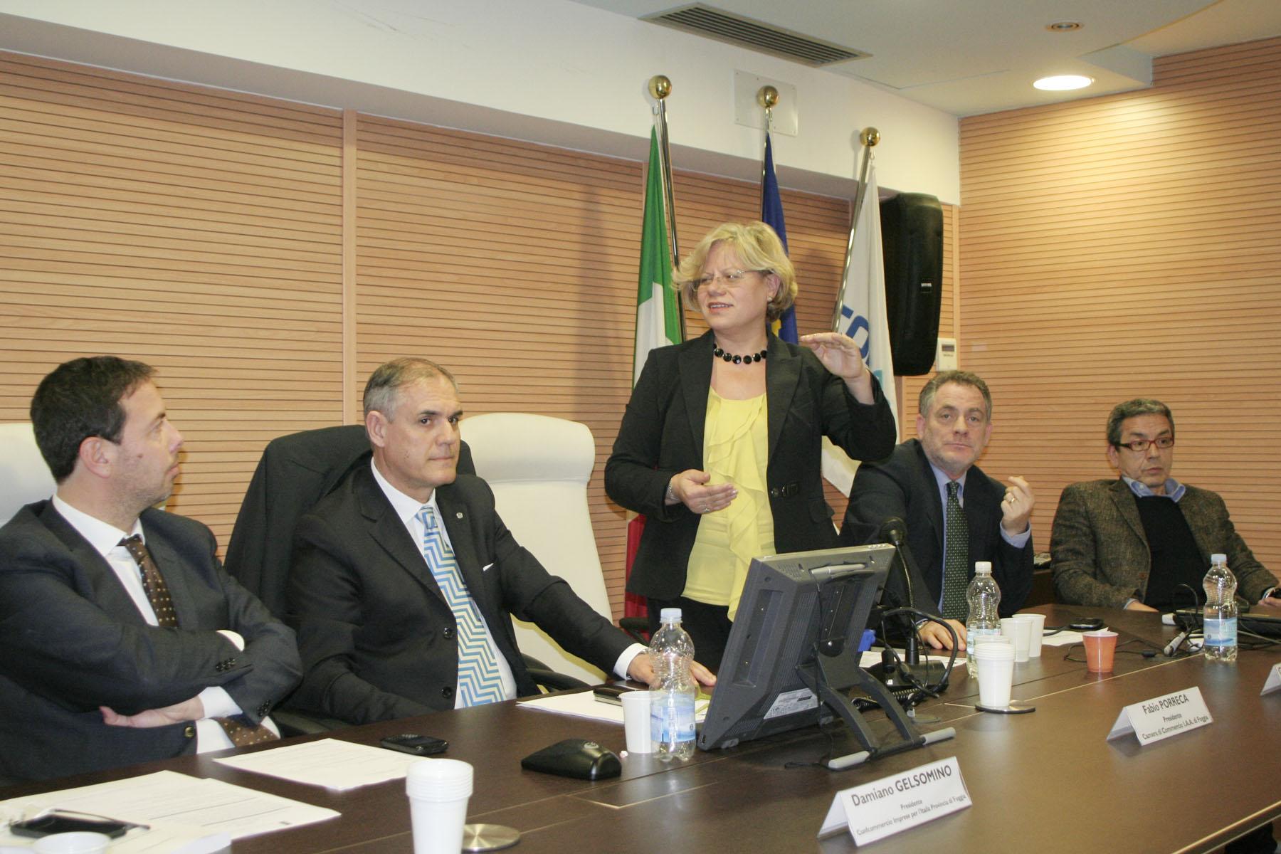 Ass.Capone a Foggia, sede Confcommercio (st - MAIZZI)
