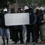 (Passate proteste a Borgo Mezzanone - MAIZZI - IMMAGINE D'ARCHIVIO)