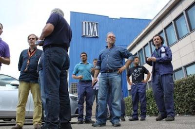 Operai Ilva (archivio)