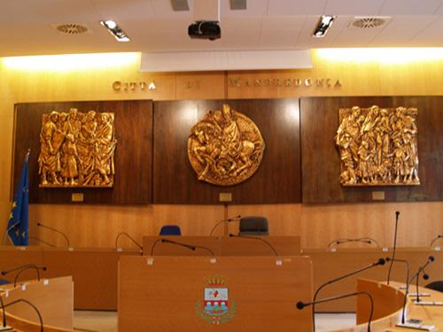 Aula consiliare Comune di Manfredonia (st - UF COMMF)