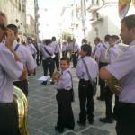 2009 - Esordio piccolo bandista alla Festa Madonna del Carmine