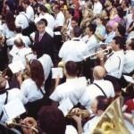 Festa Madonna del Carmine 2005. La banda di Manfredonia diretta dal M° Giovanni Esposto