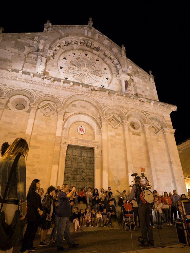 Festival Troia Teatro sfondo Cattedrale