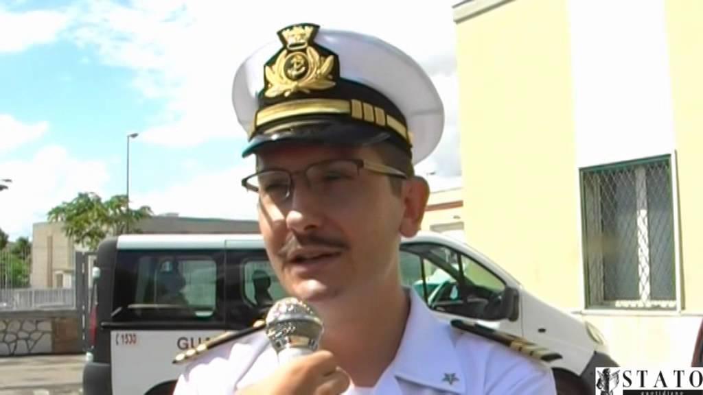 Capitaneria Manfredonia, saluta il Cap. Rotolo, destinazione Jesolo
