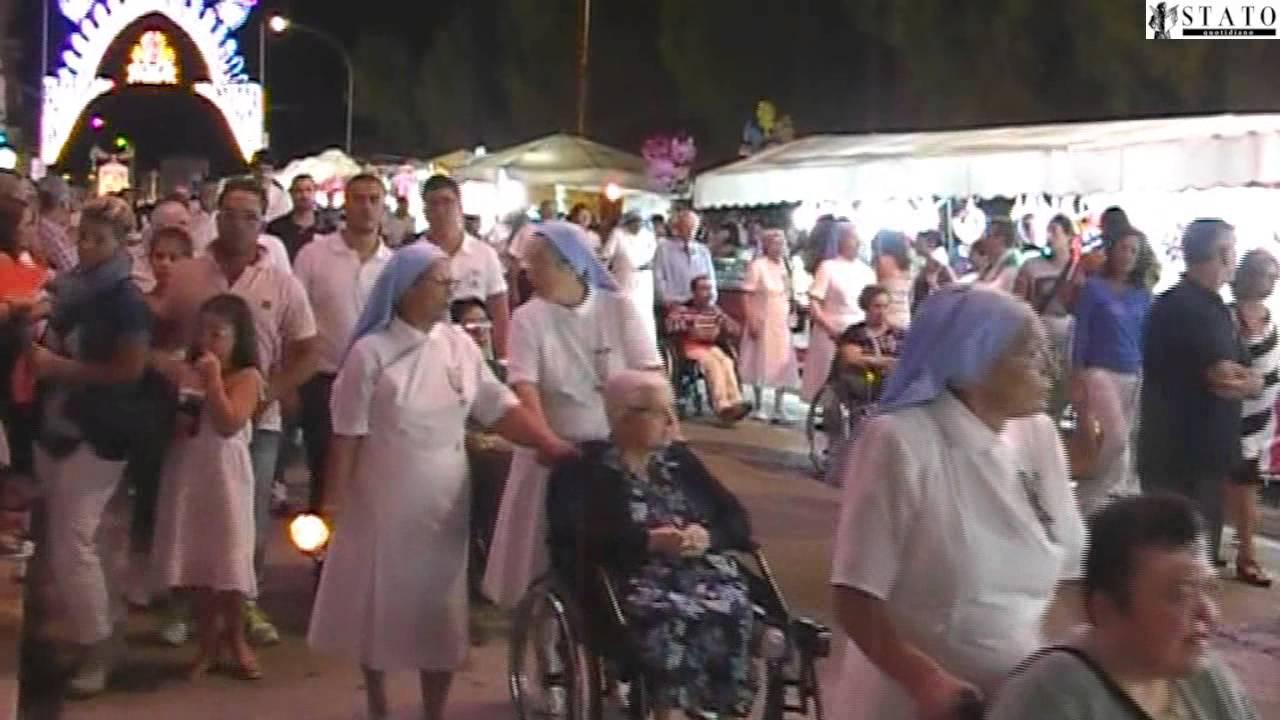 Manfredonia, la Città rende onore alla Madonna (FOTO-VIDEO)