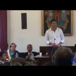 """Renzi a cittadini del Gargano: """"non vi lascerò soli"""""""