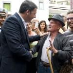 Renzi nel Gargano Foto-video: Tiberio Barchielli, Filippo Attili