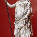 La dea Demetra. Copia marmorea romana di un originale di scuola di Fodia-Museo Pio-Clemntino