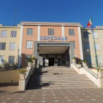 """Ospedale civile di Manfredonia """"San Camillo De Lellis"""", esterno (ph: Antonio Troiano/statoquotidiano)"""