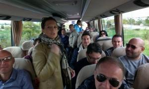 Lavoratori Solage Manfredonia in viaggio a Bari (st)