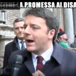 Le Iene: 'Renzi e la promessa non mantenuta ai disabili'