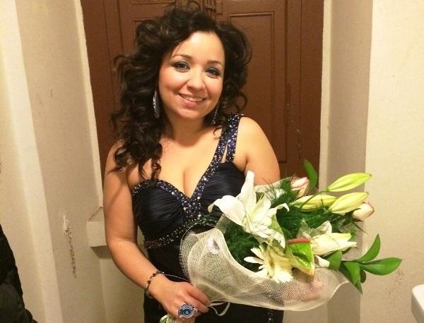 Soprano di Manfredonia vince l'Andrea Chénier Grande successo ieri per Raffaella Palumbo all'Auditorium Santa Chiara