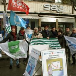 Contratto collettivo, sciopero bancari a Foggia (ftgallery)