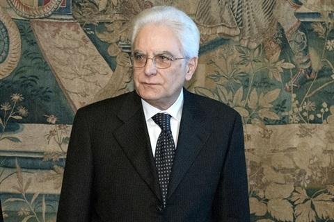 Il presidente della Repubblica Sergio Mattarella (ph: quirinale)