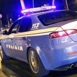 Polizia notte (archivio, immagine non riferita al testo)