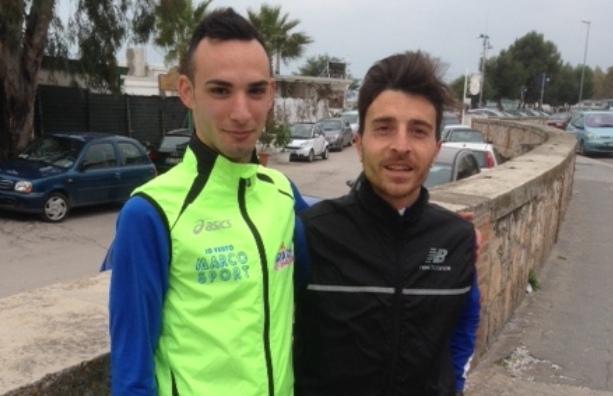 Da sinistra: Alessandro Tomaiuolo con Dario Santoro (SQ - IMMAGINE D'ARCHIVIO)