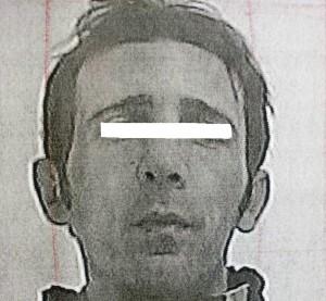 L'uomo arrestato dalla Guardia di Finanza di Manfredonia (07.03.2015)
