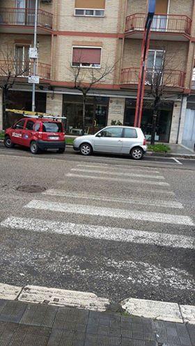 Manfredonia, parcheggio pazzo