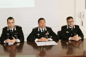 Un momento della conferenza stampa a Foggia (ph MAIZZI)
