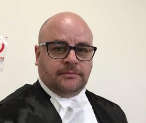 Il legale dell'uomo avv. Pierpaolo Fischetti (ph: FFTP/2015)