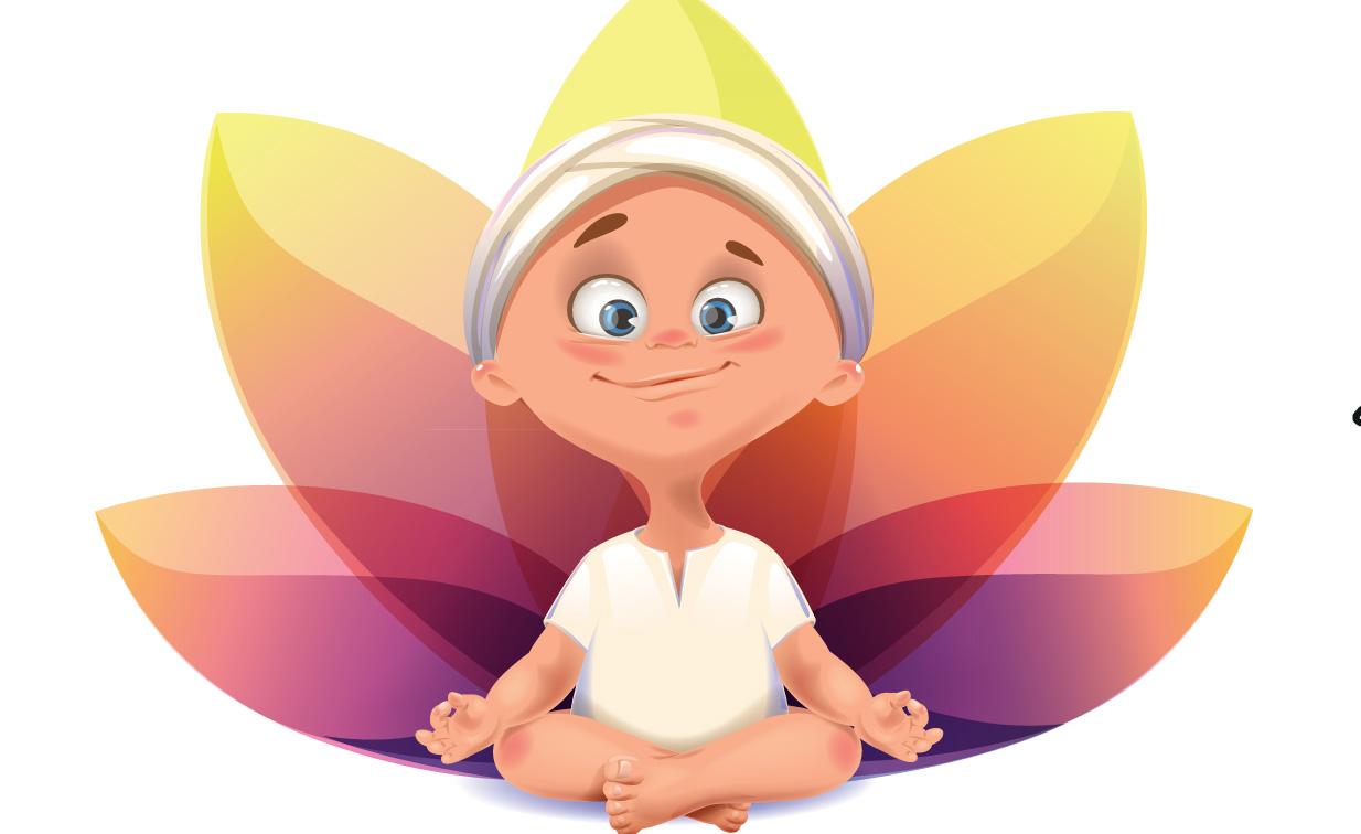 Risultati immagini per yoga bambini