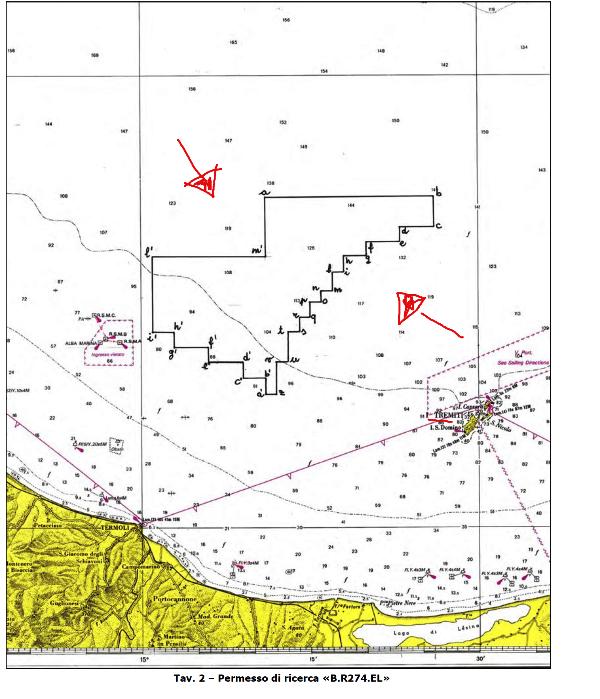 Permesso Petroceltic - Adriatico zona B
