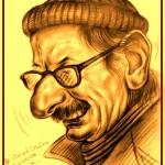 Caricatura di Franco Rinaldi di Francesco Granatiero -Carnevale 2016-