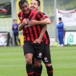 esultanza Angelo dopo 2 gol