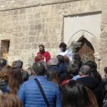 Benedezione delle Palme impartita da Padre Ciro Mezzogori, responsabile dei Ricostruttori della Fede di S.Leonardo