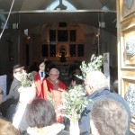 20 Marzo 2016-Benedizione delle Palme presso la chiesa cimiteriale effettuata da Don Nicola Ferrara