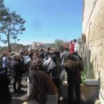 20 marzo 2016-Rito della benedizione delle Palme presso l'Abbazia di S.Leonardo