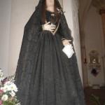 Addolorata che si venera nella chiesa di S.Francesco d'Assisi